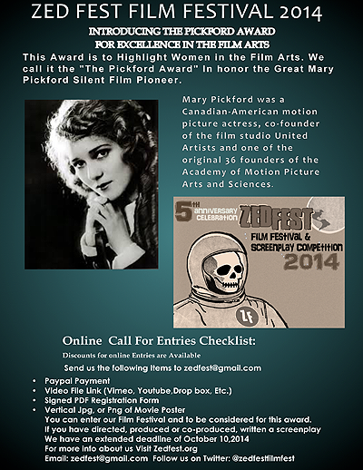 Mary Pickford Award