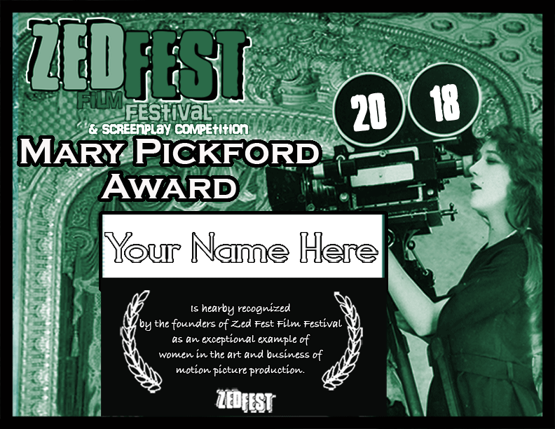 Zed Fest Mary Pickford